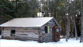 Solar System for a Small Log Cabin.wmv