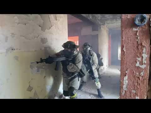 Учение по противодействию терроризму с военнослужащими ВВО
