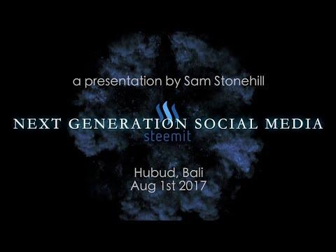 @samstonehill speaks at Hubud, Bali 1st Aug 2017 - Can Steemit change the world?