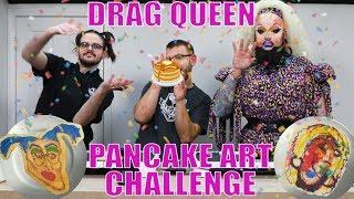 THE DANCAKES PANCAKE ART CHALLENGE - Feat. Ursula Major! 💅🥞💥