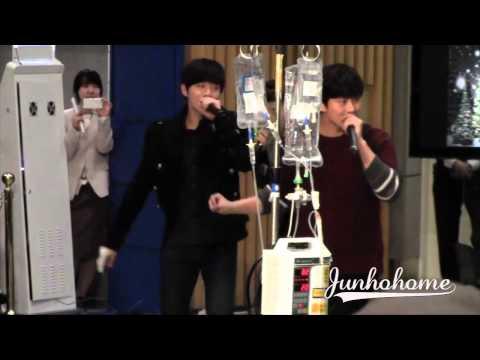 [FANCAM] 131216 Junho - Samsung Medical Centre (10/10)