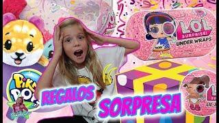 ABRIENDO REGALOS SORPRESA LOL SURPRISE UNDER WRAPS y PIKMI POPS SURPRISE!! Daniela Go