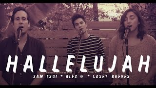Repeat youtube video Hallelujah (Leonard Cohen Tribute) - Sam Tsui, Alex G, and Casey Breves