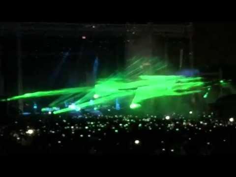 Robbie Williams concert in Belgrade