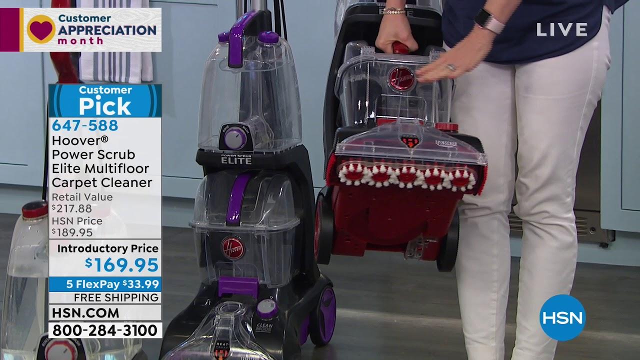 Hoover Scrub Elite Multifloor Carpet Cleaner With