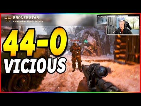44-0 SNIPING NUKE | Call of Duty: WW2