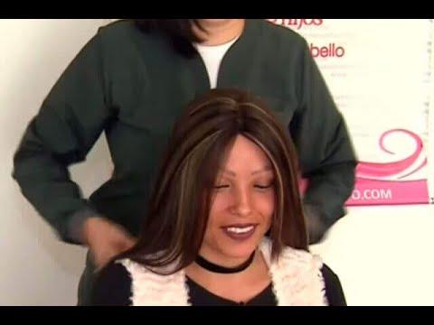 Mujer con alopecia universal recibe peluca de regalo | Noticias Caracol