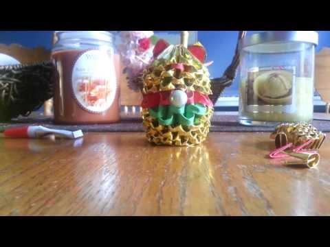 3d origami golden lucky cat part 2