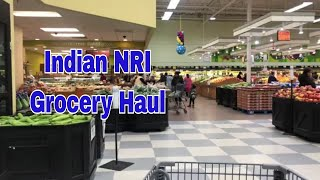 Indian Grocery Store Visit & Haul /  Indian ( NRI) Grocery Shopping Vlog /  Ami's Lifestyle