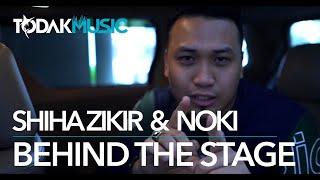 Shiha Terkejut Terharu! Noki (Kclique) surprise Shiha! | Behind The Stage | Todak Music