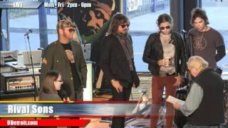 All Over The Road - Rival Sons live @UDetroit Media Cafe