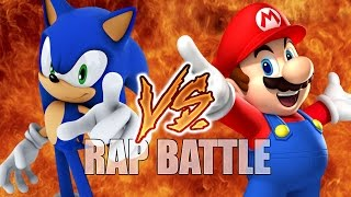 Sonic vs Mario (RAP BATTLE)