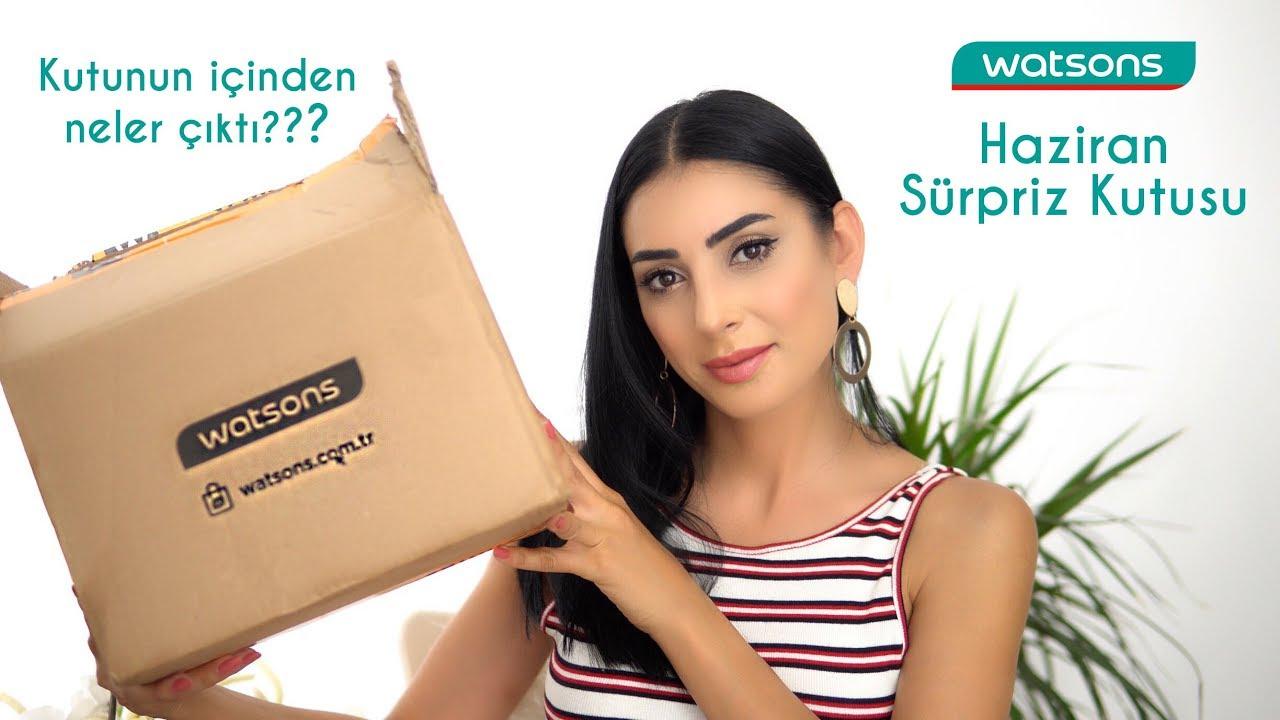 Watsons Haziran Sürpriz Kutusu 🎁 | Kutunun İçinden Neler Çıktı?