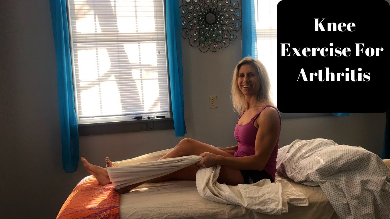 5 Great Exercises For Knee Arthritis