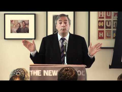 Néstor Kirchner at The New School: Latin America Rising (English Translated Version)