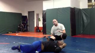 Wrestling attack from front headlock - the dump