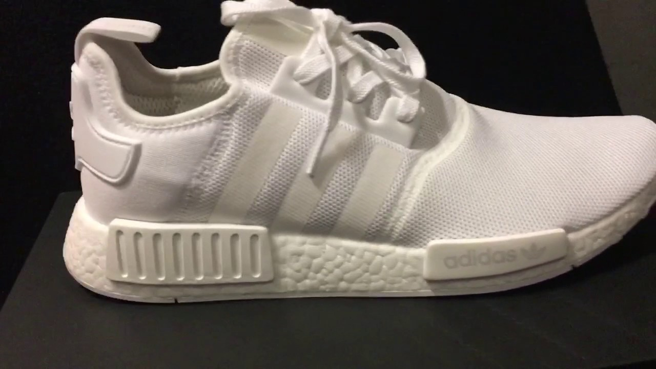 huge discount f258b 31cfa Adidas NMD R1. All white review!