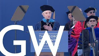 2019 GW Commencement Honoree - Cindy Hensley McCain