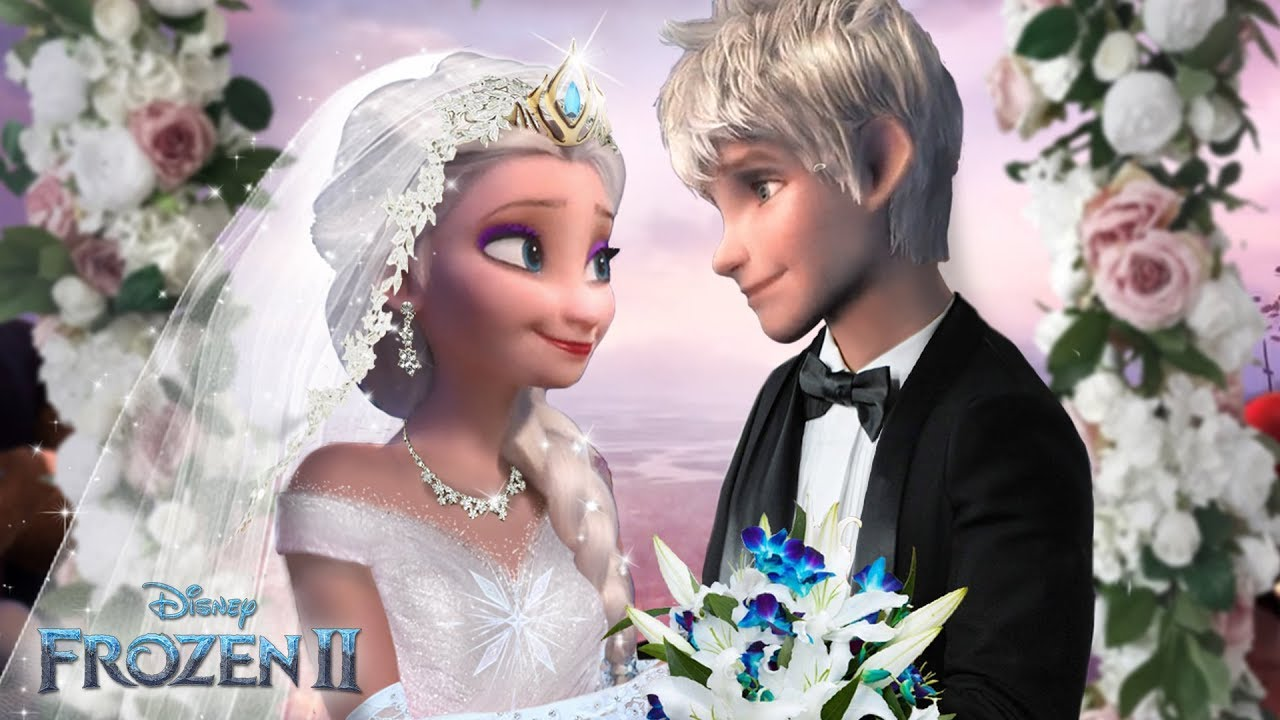 Download Frozen 2: Elsa and Jack Frost are getting married! The royal Jelsa wedding! ❄💙Alice Edit!