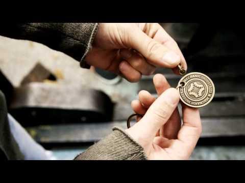 Ignition (Gun Metal Keyring + gimmick) by Mechanic Industries
