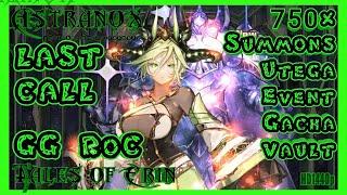 TALES OF ERIN Summon 750 Divine Tokens in Utega Event Gacha Restored Vault - 5* +10 F2P Hero TOE