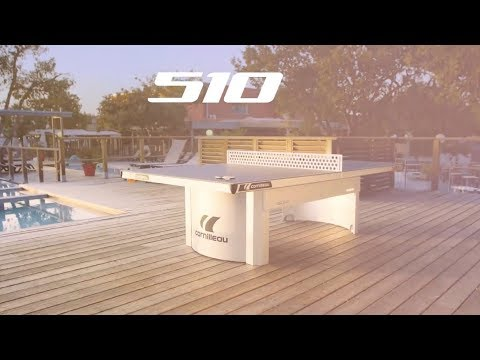 Ping-pong Table Cornilleau  Pro 510 M Outdoor - The Table Made For Institutions