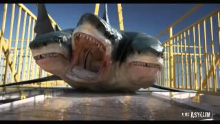 720pHD: 3 Headed Shark Attack VFX By Steve Clarke & Paul Knott