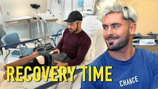 An Inside Look at My Knee Recovery | Recovery Time w/ Zac Efron