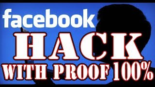 How to hack FAcebook without phonenumber or email || with Proof  1000% working||new trick 2018