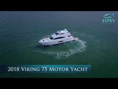 2018 Viking Yachts 75' Motor Yacht | For Sale with HMY Yachts
