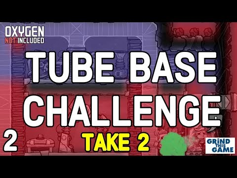 THE TUBE COLONY CHALLENGE (Take 2) #2 - Oxygen Not Included Tubular Upgrade [4k]