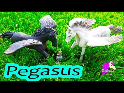 Healing  Pegasus Series Part 4 Honeyheartsc  Schleich + Papo Model Horses Video