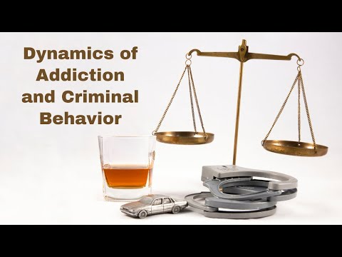 Dynamics of Addiction and Criminal Behavior