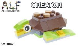 Lego Creator 30476 Happy Turtle - Lego Speed Build Review
