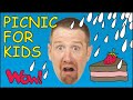 Funny Picnic for Kids | What´s the Weather like? | Story Time with Steve and Maggie