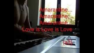 Enya - Amarantine on Piano + Lyrics