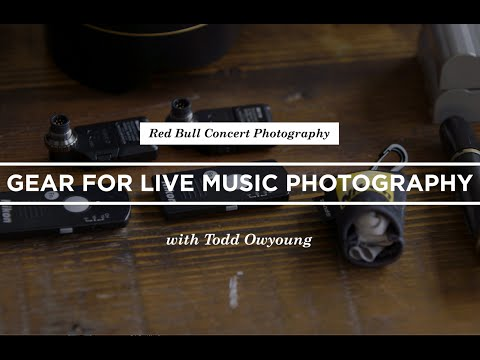 Gear For Live Music Photography With Todd Owyoung