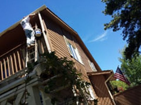 Front Range Exteriors Inc   Exterior House Painting Colorado Springs 719  Staining