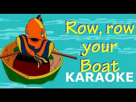 Row, row, row, your boat Karaoke