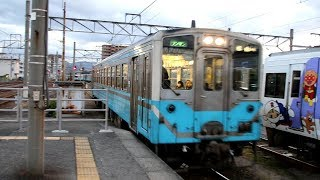 【HD】JR予讃線 普通列車キハ54形気動車 キハ54-1 松山駅到着