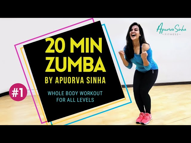 ZUMBA FITNESS | 20 MIN | APUORVA SINHA | INSTRUCTIONS FOR BEGINNERS | WHOLE BODY WORKOUT | CERTIFIED