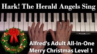 Hark! The Herald Angels Sing (Elementary Piano Solo)