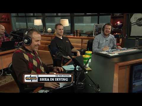 Shea in Irving Calls in With His Weekly Picks | The Dan Patrick Show | 11/3/17