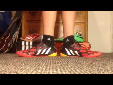 391ead755a66 ... switzerland adidas predator absolado instinct red black indoor on feet  51f4f b2dea