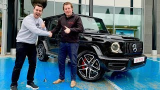 Taking Delivery Of The First 2019 Mercedes G63 In The Country!