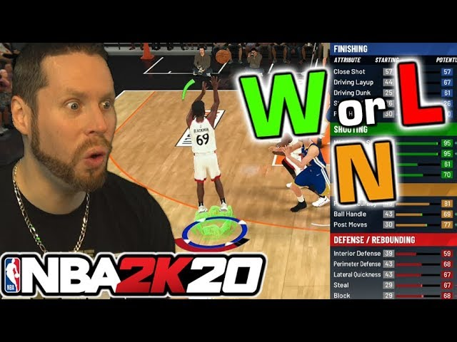 ist das NBA 2K20 Demo ein W L oder N? + video