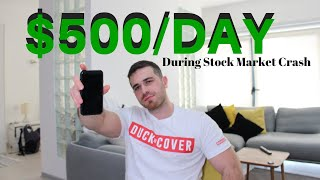 How To Make $500+ Day Trading Stocks (During Stock Market Crash 2020)