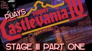 Super Castlevania IV STAGE III SNES part 1 | The Atari Creep Plays