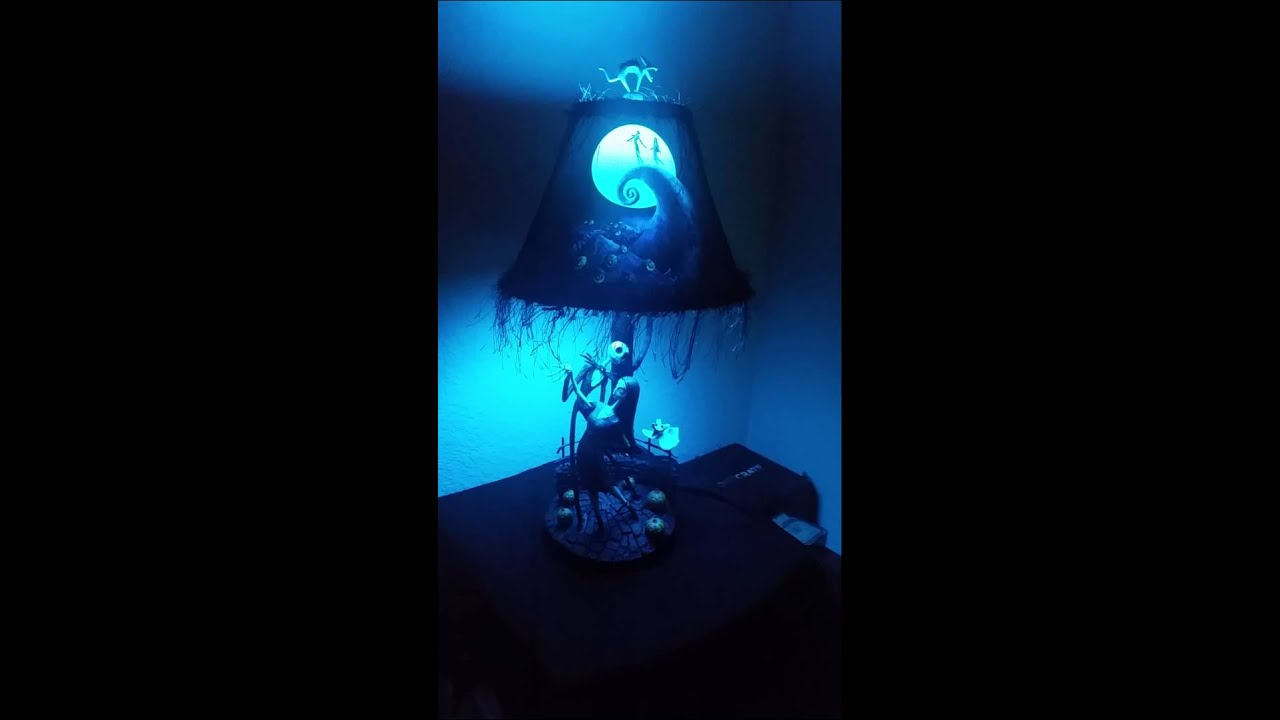 Tim Burton S Nightmare Before Christmas Moonlight Lamp