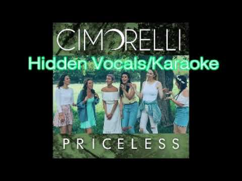 Cimorelli~Priceless (Hidden Vocals/Karaoke)